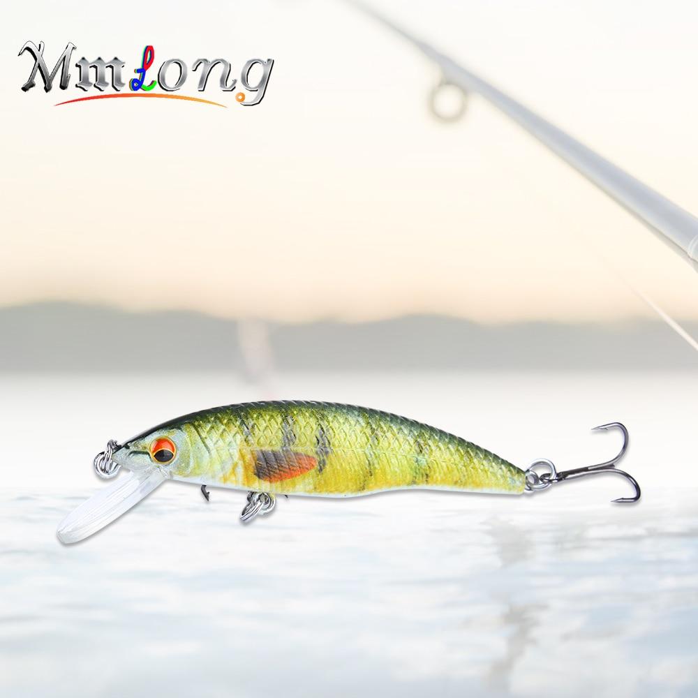 Mmlong 7.8cm Pike Fishing Lures Artificial Bait SAH12B 6.9g Floating Swimbait Fishhook Fishing Wobbler Minnow Tackle Pesca