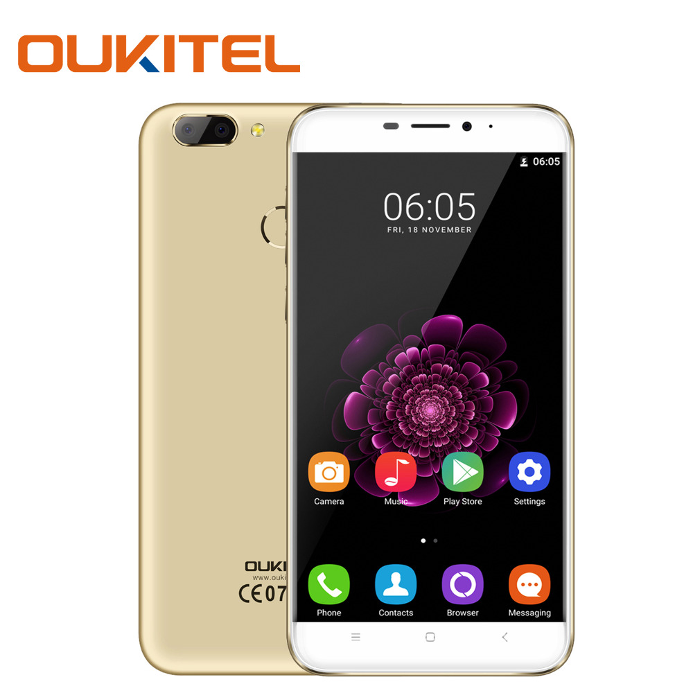 Presales Original Smartphone 5 5 Inch 2GB RAM 16GB ROM With Dual Camera Octa Core Fingerprint