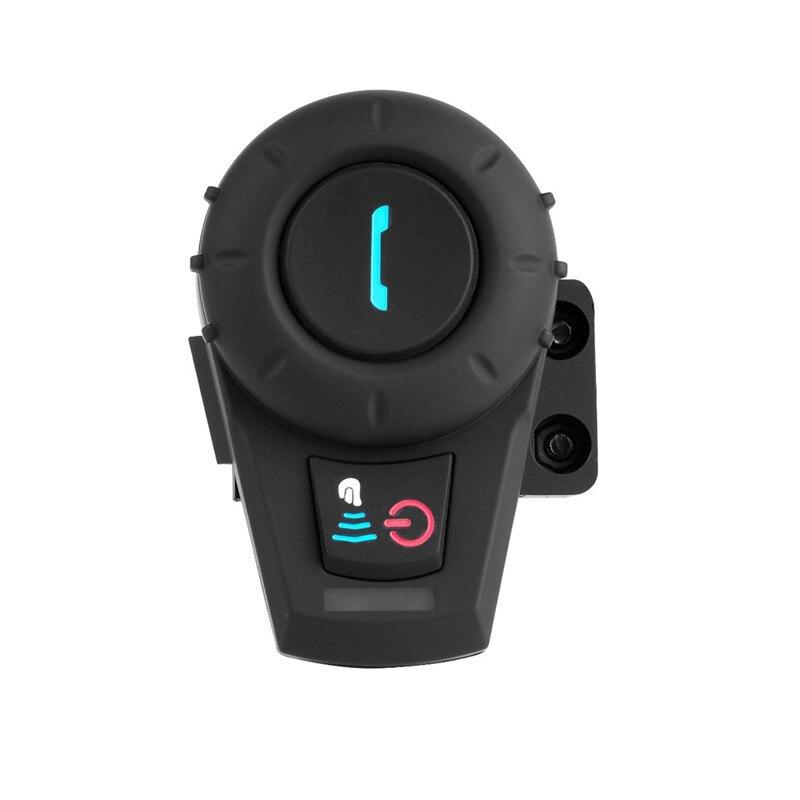 1PCS 500M Motorcycle Bluetooth Helmet Intercom Headset BT Intercom Sports Helmet Kits 2Rider Full-duplex Intercom With FM FDC-01