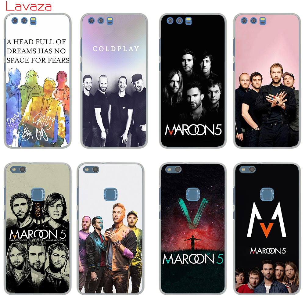 Lavaza Maroon 5 Hard Phone Case for Huawei nova Lite 2 2s 2plus 2i Mate 9 9pro P20 pro lite P smart Cover