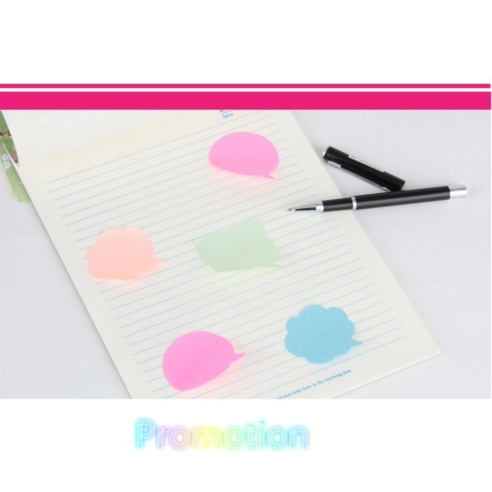 BPColor notes, paper paper, instant message paper memo pad kawaii notepad stickers WJ BQB3 PUHUO3