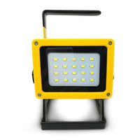 3000Lumens 15W 20 LED Portable Spotlight Handheld, Rechargeable Flood Light Work Lamp for Car Repairing, Outdoor Camp, Search