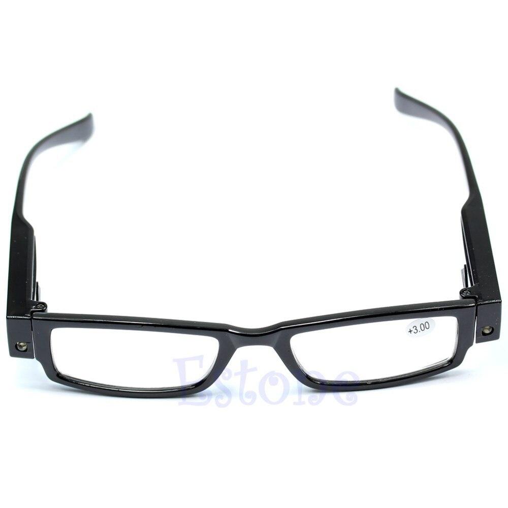 Lesebrillen Bekleidung Zubehör Einfach 1 StÜck Multi Stärke Lese Glas-brille Brillendioptrien Lupe Led Leuchten Weihnachten Geschenke # J Klar Und Unverwechselbar