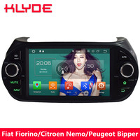 KLYDE 4G Octa Core Android 8.0 4GB+32GB Car DVD Player Radio For Fiat Fiorino 2008 2009 2010 2011 2012 2013 2014 2015 2016 2017