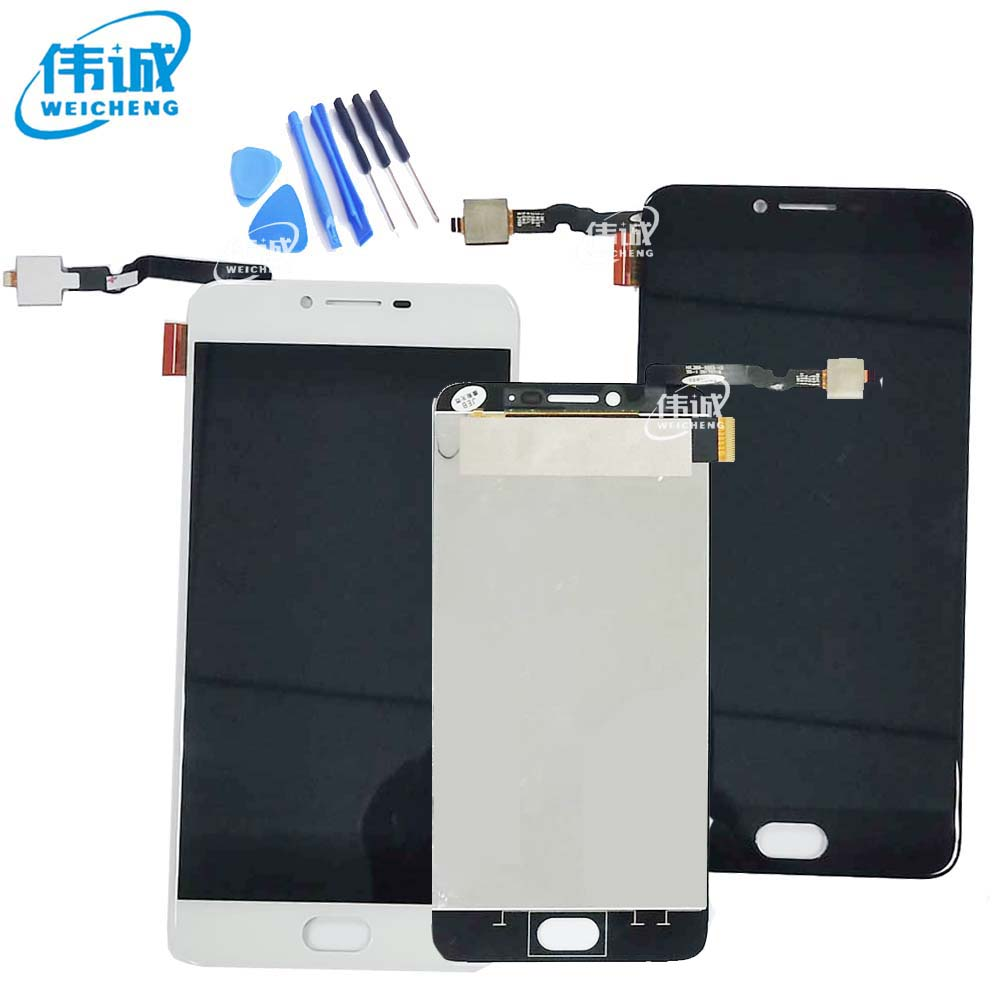 FSTGWAY For UMI C Note 2 LCD Display Screen with Touch Glass