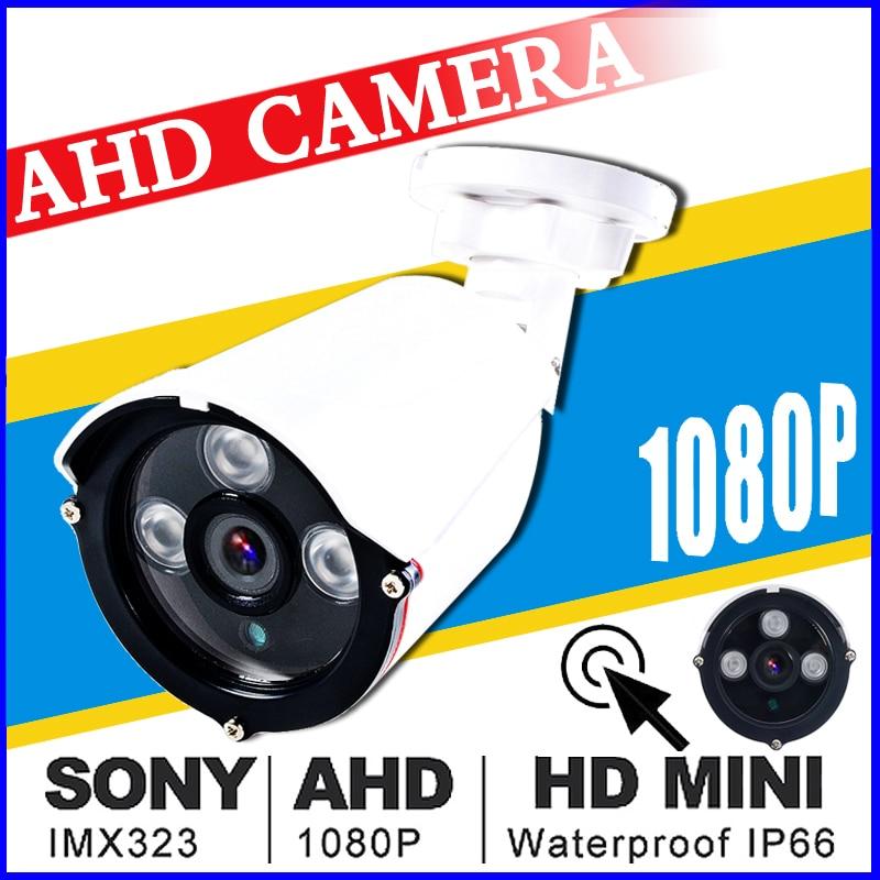 AHD 720/960/1080 P 3000TVL HD Macchina Fotografica del CCTV PAL Esterna Impermeabile 1.0/2.0MP home Video di Sicurezza sistema di sorveglianza di Visione Notturna