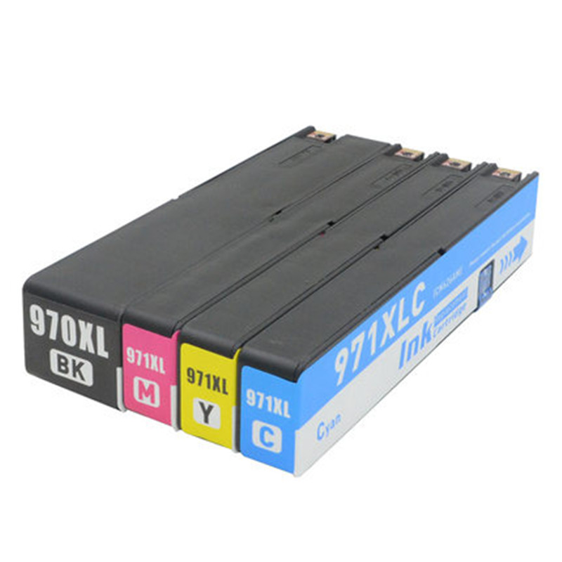 BK C M Y for HP 970XL 971XL 970 971 XL Full Ink Cartridge For HP Officejet Pro X576dw X451dn X451dw X476dw X476dn X551dw PrinterBK C M Y for HP 970XL 971XL 970 971 XL Full Ink Cartridge For HP Officejet Pro X576dw X451dn X451dw X476dw X476dn X551dw Printer