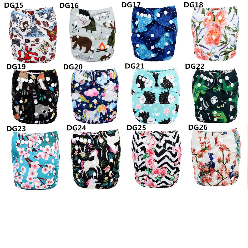 2017 new Baby Pocket Cloth Diaper Nappy Reusable Washable Teepee