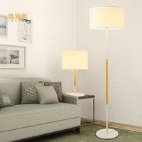 black and white shade floor lamp fabric lampshade lighting floor Black white ligts modern floor lighting bed room lighting