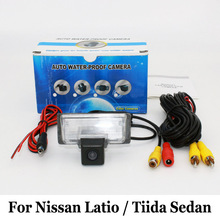 RCA AUX Wired Or Wireless font b Camera b font For Nissan Latio Tiida Versa Sedan