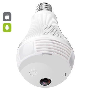 Wifi Panoramic Fisheye 360 degree Camera Wireless IP LED Light Bulb Mini Camera 1.3MP 3D VR 960P Security Bulb WIFI Camera CCTV 360 degree panoramic ip camera fisheye wifi cctv cam ptz 3d vr video p2p 720p audio for home ofiice security remotely mon