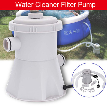 Swimming Pool Filter Pump Pool Cleaner 220v Filter Pump Circulation Pump Siphon Principle Easy Quick To Install Household IHVR88