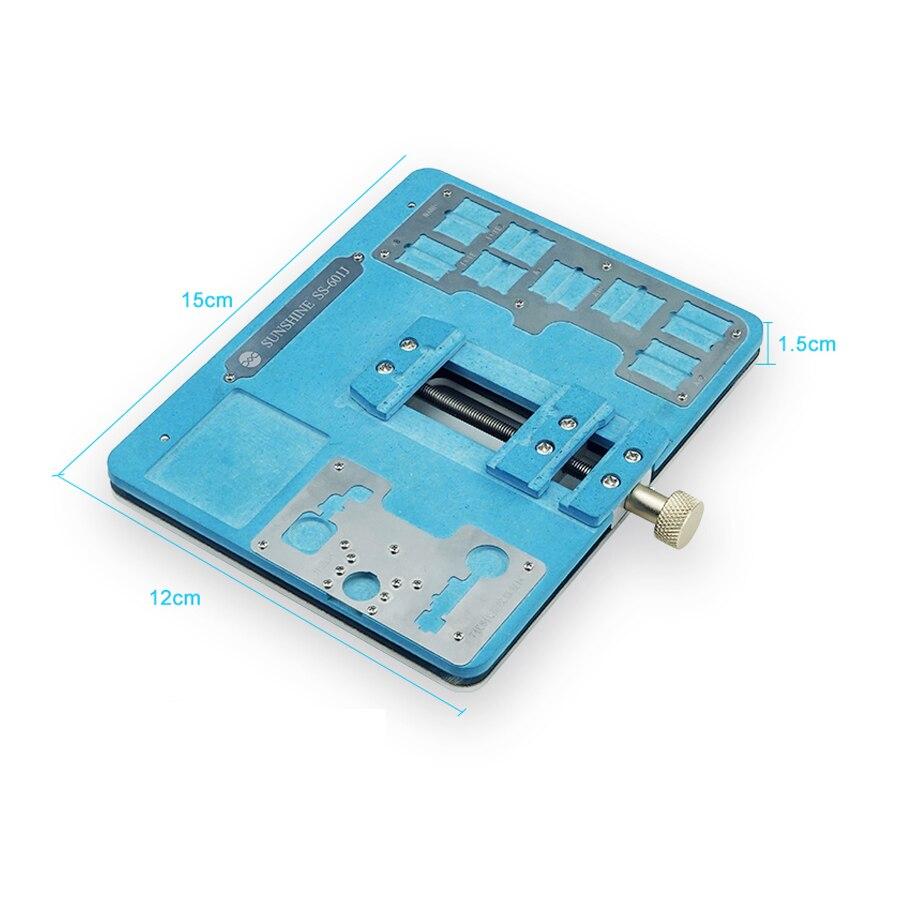 Most Powerful Mobile Phone Motherboard Clamp SS-601J Fixture Chip Degumming Fingerprint Repair Main Board Chip Receiving A8-a12