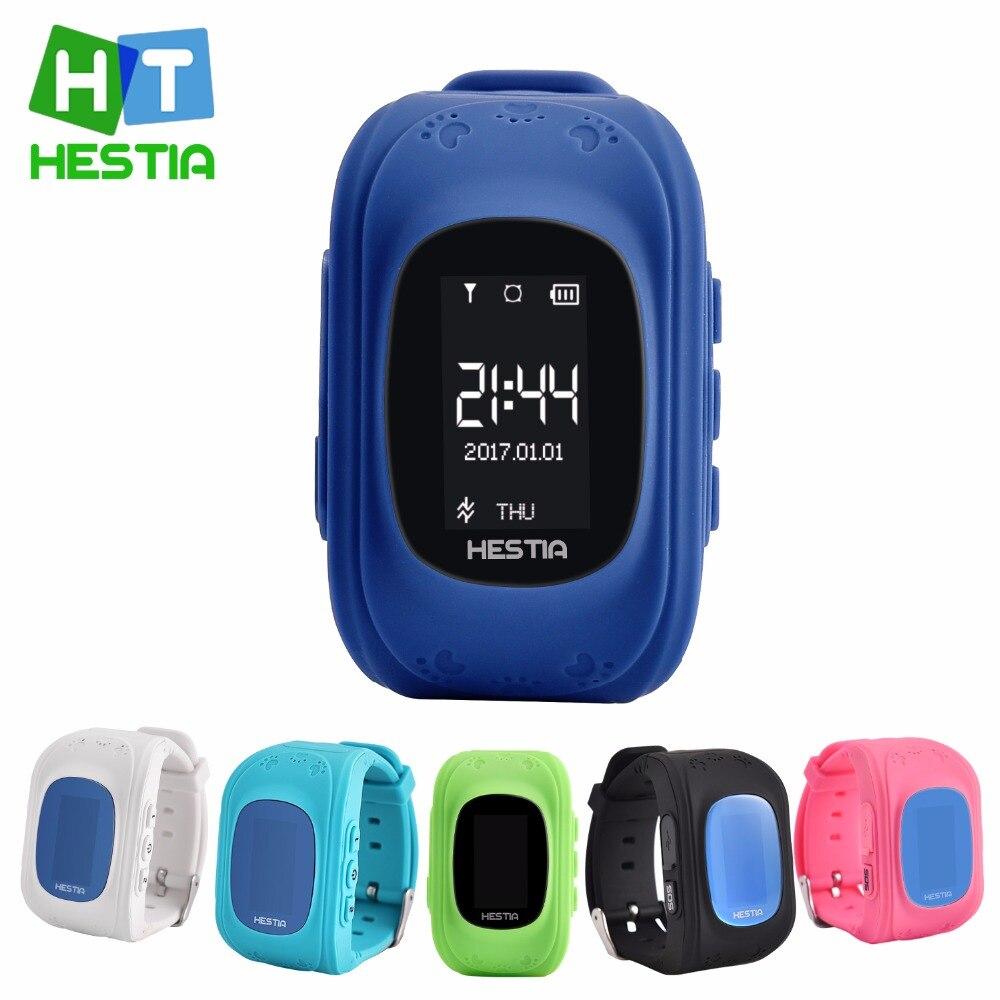 HESTIA HOT Q50 Smart watch Children Kid Wristwatch GSM GPRS GPS Locator Tracker Anti Lost Smartwatch