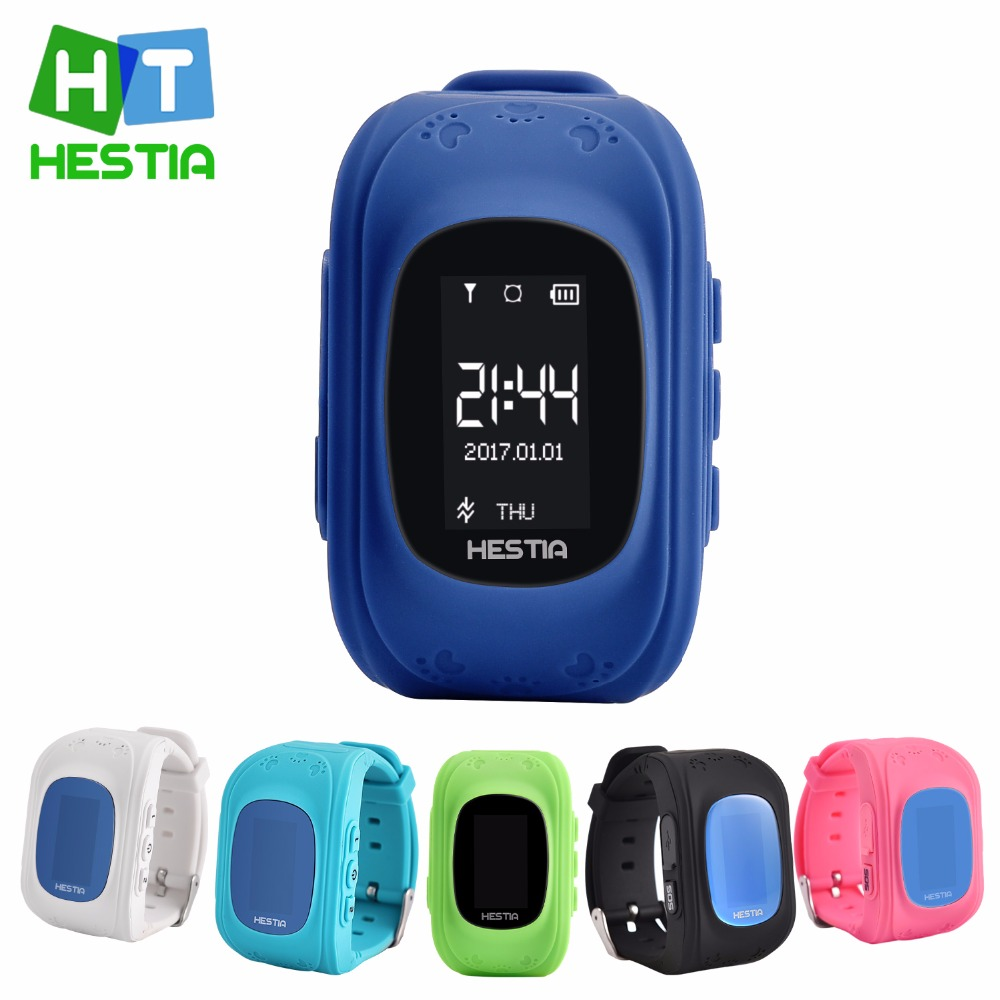 HESTIA HOT Q50 Smart watch Children Kid Wristwatch GSM GPRS font b GPS b font Locator