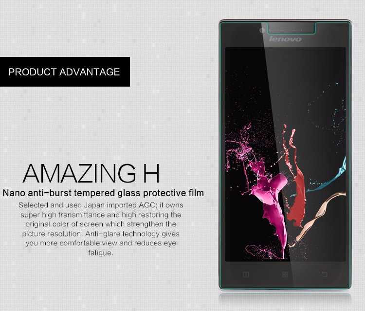 Screen Protector Film 0.3mm 9H 25D Front Premium Tempered Glass For Lenovo P780 P70 P1M P1 S1 Z90 Z1 Z2 Pro Tempered Glass
