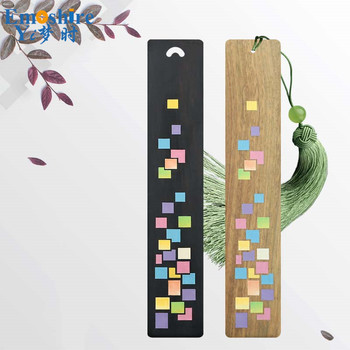 Wooden Ancient Bookmarks Chinese Complex Classical Teachers Festival Gifts Bookmarks Creative Bookmarks Sets M097