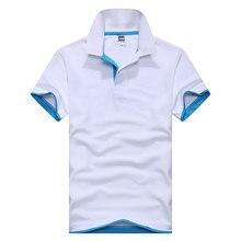 761701d369d HOWL LOFTY Plus Size XS-3XL Male female Solid color polo shirt short sleeve  cotton