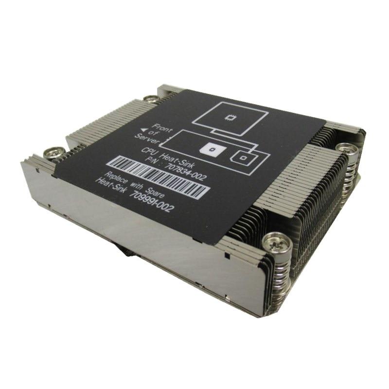 Server di CPU del dispositivo di raffreddamento del dissipatore di calore dissipatore di calore della CPU del Server 2 del Dissipatore di Calore Per SL200s SL2x0s Gen8 PN/707834- 002 SPN/709991-002Server di CPU del dispositivo di raffreddamento del dissipatore di calore dissipatore di calore della CPU del Server 2 del Dissipatore di Calore Per SL200s SL2x0s Gen8 PN/707834- 002 SPN/709991-002