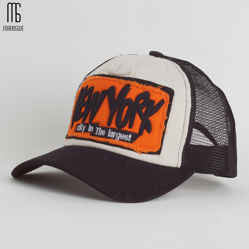 الصيف قبعة بيسبول التطريز شبكة كاب - ملابس واكسسوارات