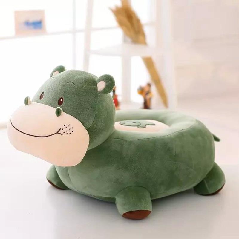 Новый Плюш высокого качества Бегемот игрушечный диван мультфильм Зеленый Бегемот диван подарок около 60x45x40 см 0268