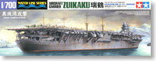 "TAMIYA 1/700 scale model 31223, Japanese Navy crane aircrafts carrier ""attack Pearl Harbor.""ZUIKAKU"