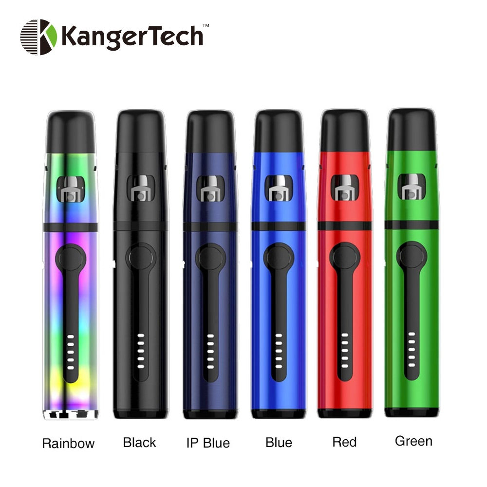 Kangertech K-PIN Mini Starter Kit 1500mAh Bulit-in Battery & Colful Atomizer Tank 2ml with SSOCC E-cig Coil E-cigarette Pen Kit