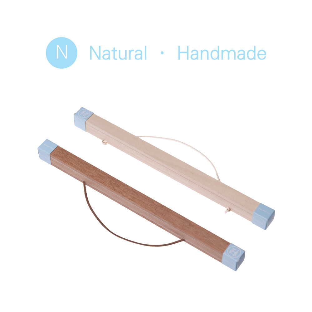 DIY Magnetic Wooden Poster Frames Painting Scroll White Nordic A4 ...