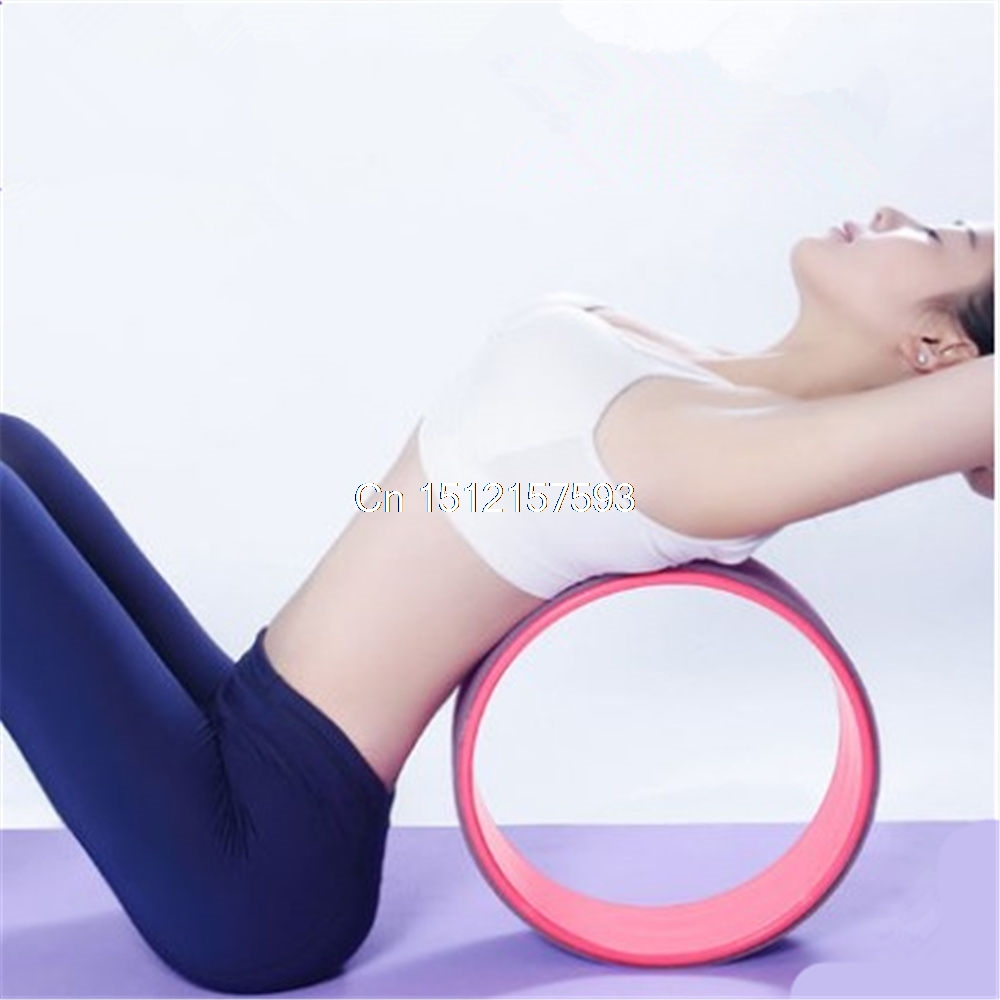 Yoga Prop Dharma Wheel For Stretching and Improving Backbends 32*32*13cm