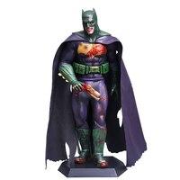 DC комиксов Сумасшедшие игрушки Джокер косплэй Бэтмен фигурку самозванец версия игрушки 30 см