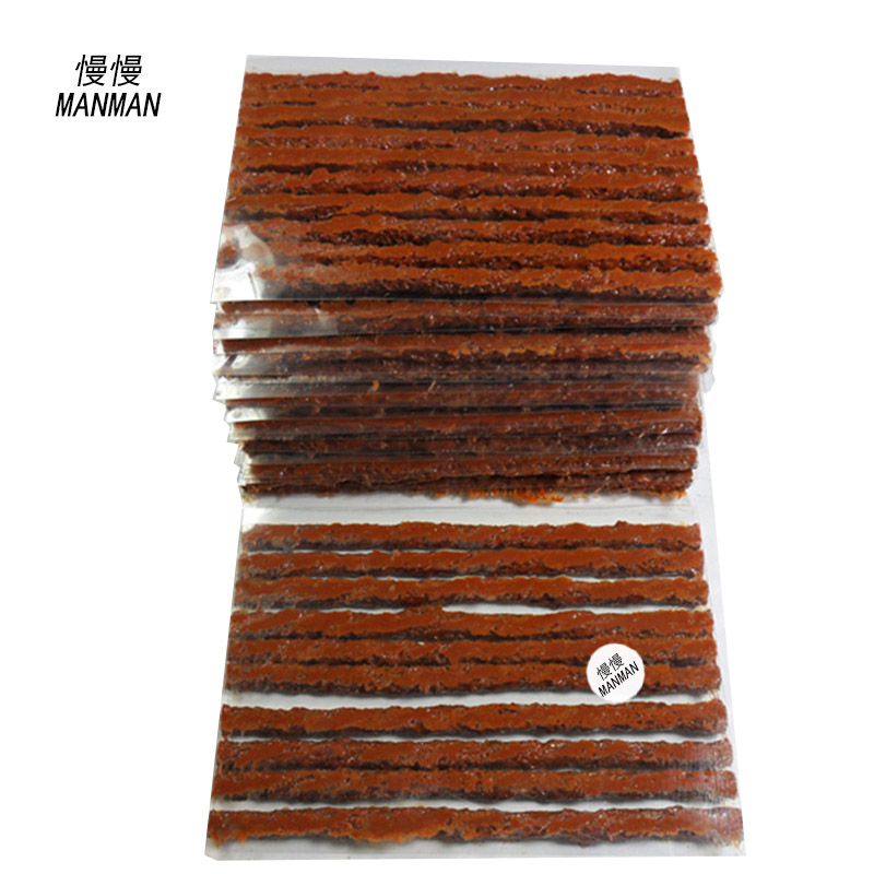 100pcs 4mm*100mm Tyre Repairing Rubber Strips Tire Repair Tools rubber strips tyre repair