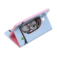 leather flip Tablet Case For Samsung Galaxy Tab E T560 SM-T560 T561 9.6 inch Smart Cover Fashion Panda Owl Flip Stand PU Leather Skin Funda (5)