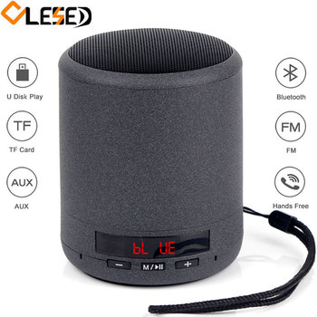 Portable Bluetooth Speaker Wireless Bass Hifi Subwoofer Boombox Mini Metal Speakers Tf Card Aux Mp3 Player Sound Box For Phone subwoofer