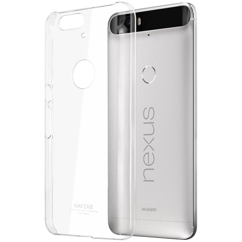 lowest price 04b15 d22e3 US $5.99 |Huawei Nexus 6P Case Original IMAK Clear Crystal PC Hard Plastic  Back Cover For Huawei Nexus 6P (5.7'') Transparent Phone Cases-in Fitted ...