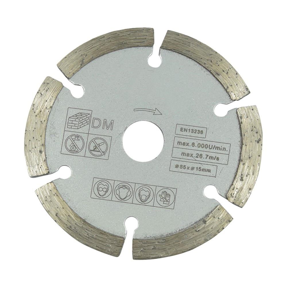 Diameter Diamond Dry Chip Grey Saw Blade 85*15 10mm Marble Diamond Cutting Chip