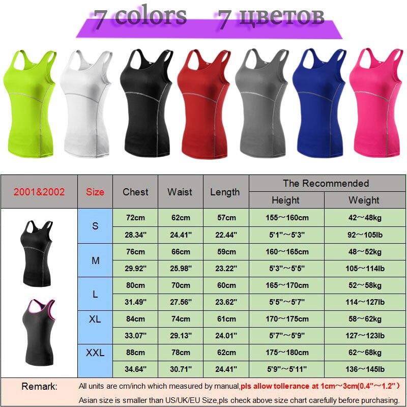 New Yoga Tops femmes sexy Gym sport Gilet Fitness Vêtements femme - Sportswear et accessoires - Photo 6