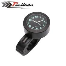 "Hot Sales 22mm 7/8"" Motorcycle Accessory Handlebar Mount Clock Watch Waterproof For Honda Yamaha  Suzuki Mot"
