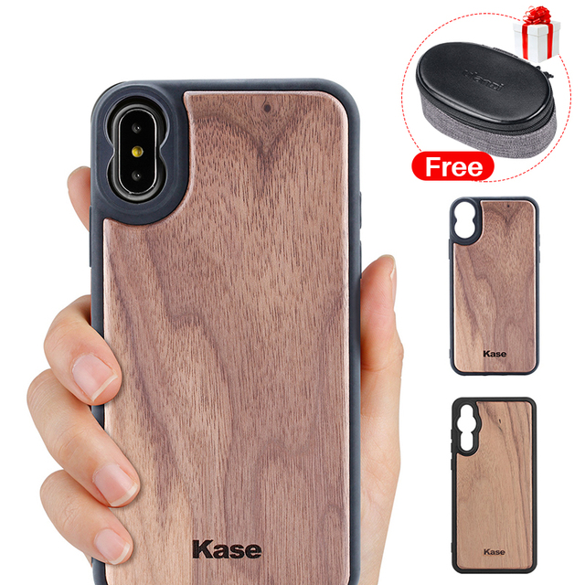 the best attitude 8f15f 4a427 US $15.59 40% OFF|Aliexpress.com : Buy Kase Wood Mobile Phone Case VS  Moment for iPhone Xs Max X 7 8 Plus Huawei P20 Pro Wide Angle Lens  Telephoto ...