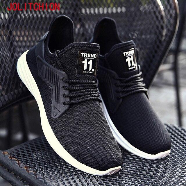 Pria Fashion sneakers Zapatillas Sepatu Musim Panas Mesh Bernapas Kasual  Pria Sepatu Olahraga Profesional Merek Sepatu 46c6f43c32