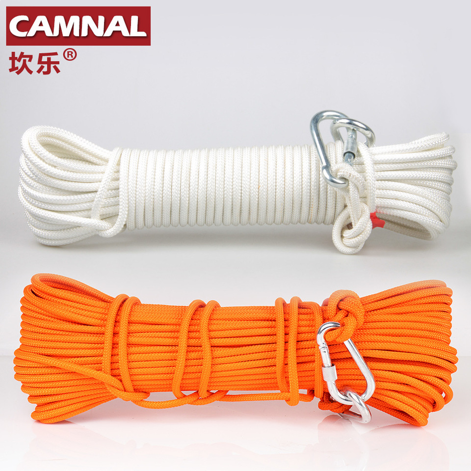 Bnineteenteam Climbing Rope Home Fire Emergency Escape Rope Multifunctional Cord Safety Rope for Hiking Caving Camping Engineering Protection