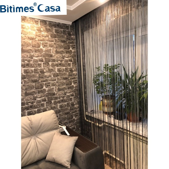 Decorative Solid Color String Curtain Line