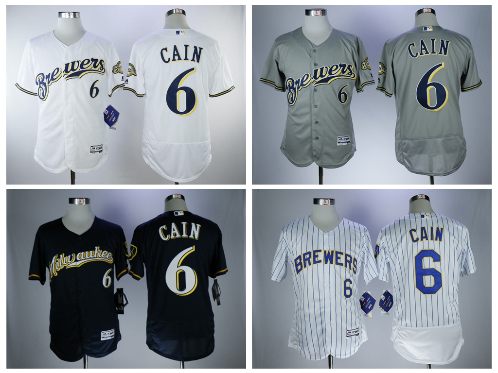 9de05a300a4 ... hot mens milwaukee brewers 7 eric thames white pinstripe home stitched  mlb flex base jersey buy