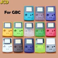 JCD 1pcs 하우징 쉘 커버 닌텐도 게임 보이 컬러 GBC 하우징 케이스 팩