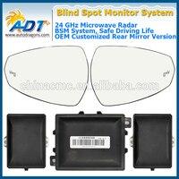 BSM 24 Ghz Microwave sensor Customized Side Mirror LED Lights BSM OBD (10KM/h) Blind Spot Sensor warning System for TOYOTA VOIS