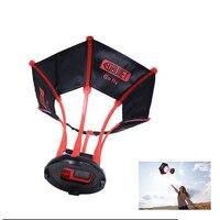 Tekcam Aerial Flight Sky Shooting Photography Parachute Selfie Camera Case for Go Pro Hero 7/6/5/ Hero4/3 for gopro accessories
