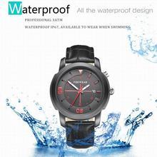 Nuevo impermeable del deporte del bluetooth smart watch monitor podómetro sleep smart watch sms recordando llamada para android ios relojes regalo
