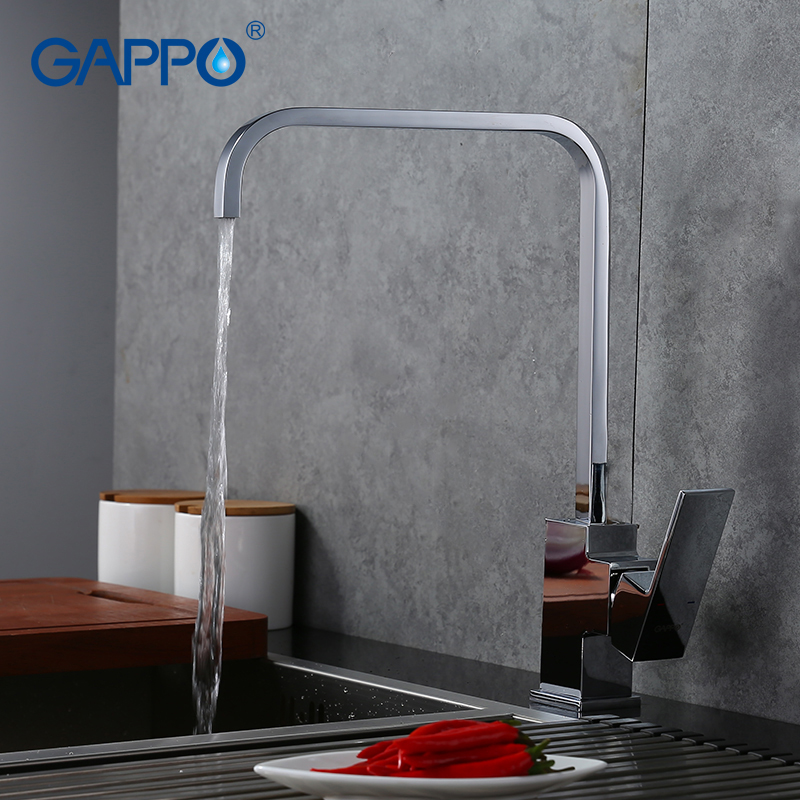 GAPPO Kitchen Faucet Water Tap Mixer Kitchen Sink Mixer Torneira Para Cozinha Deck Mounted Crane