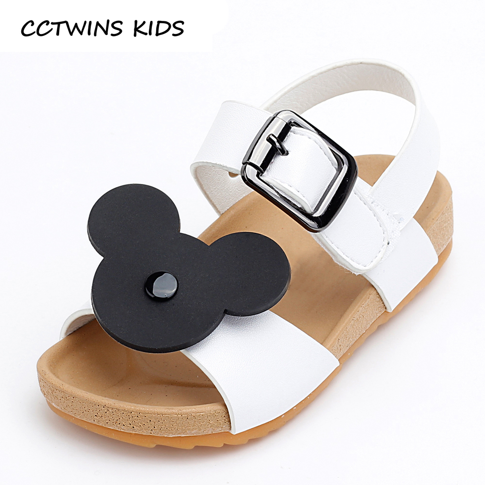Black sandals baby girl - Cctwins Kids 2017 Summer Toddler Pu Leather Flat Children Fashion Bowtie Black Sandals Baby Girl Brand Beach Pink Shoe B772 In Sandals Clogs From Mother