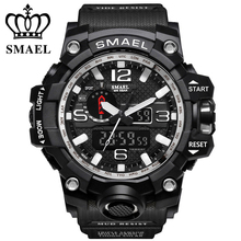 New Style Chronograph Sports Military Watches Shock Luxury B