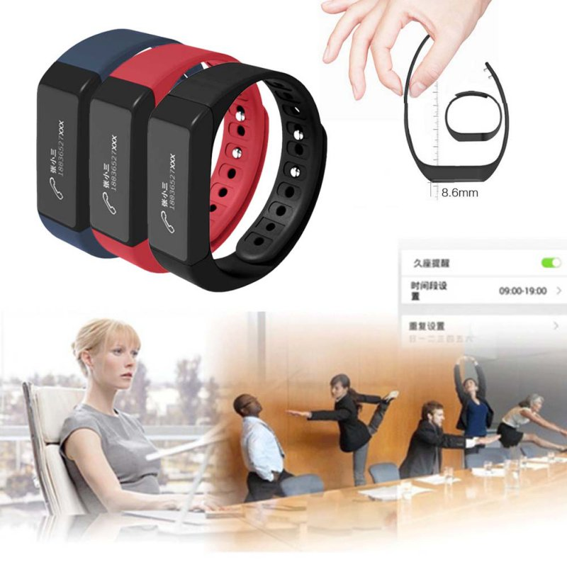 For I5 Plus Smart Bracelet Bluetooth 4 0 Screen Fitness Tracker Health Wristband Sleep Monitor Smart